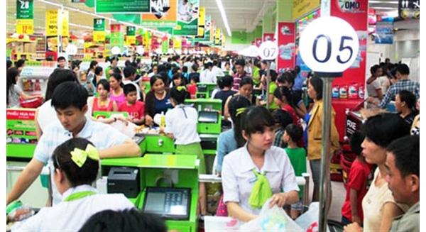 Thị phần bán lẻ: nước ngoài 3%, Việt Nam 97%. Ảnh: Internet.